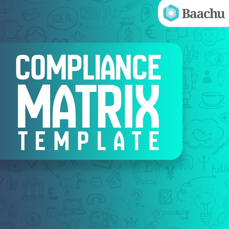 Compliance Matrix Template (Bid & Proposals)