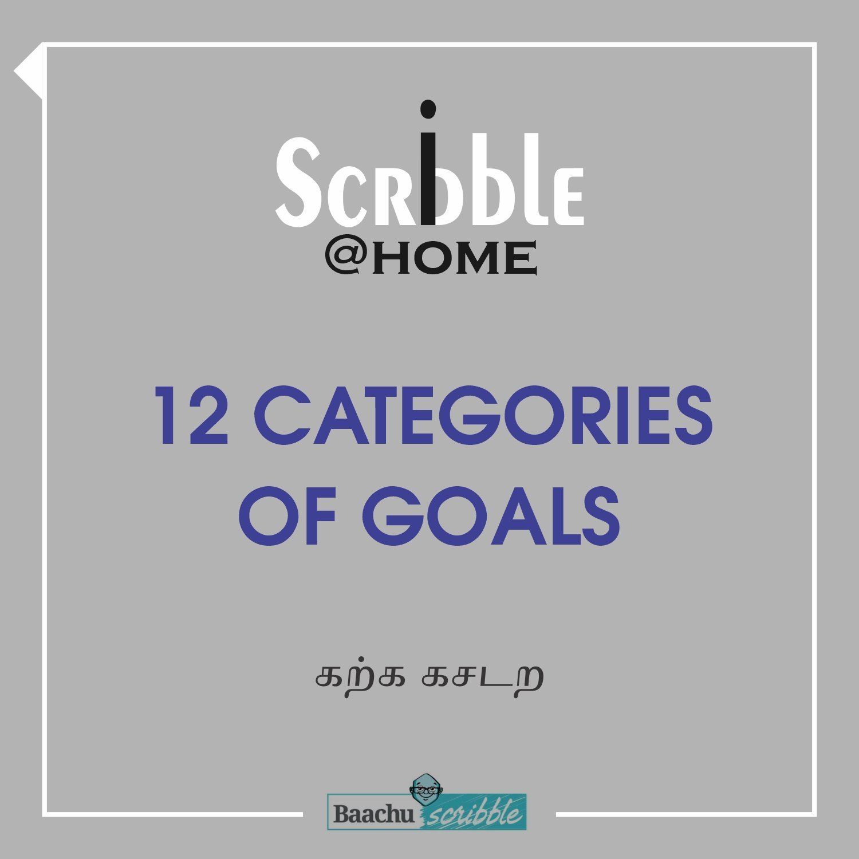 12 categories of goals