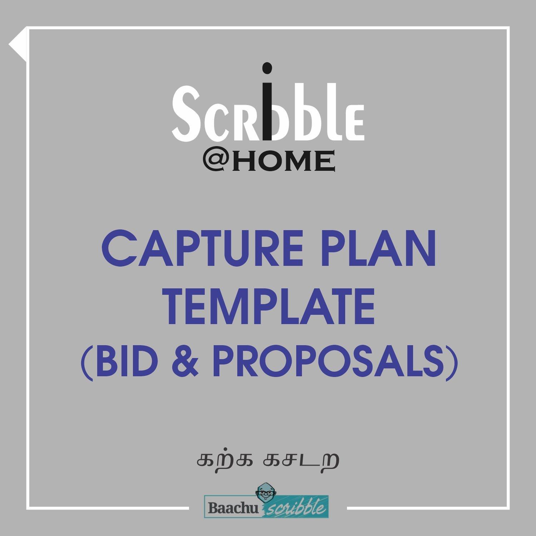 Capture Plan Template (Bid & Proposals)