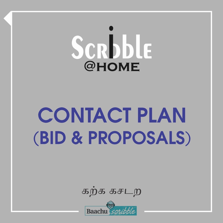 Contact Plan (Bid & Proposals)