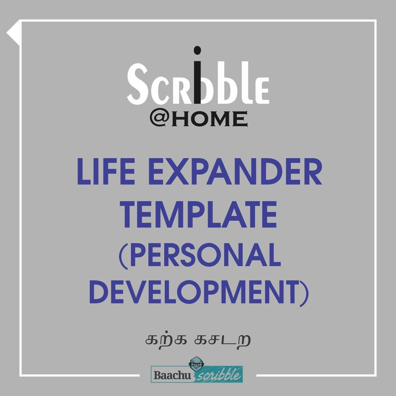 Life Expander Template (Personal Development)