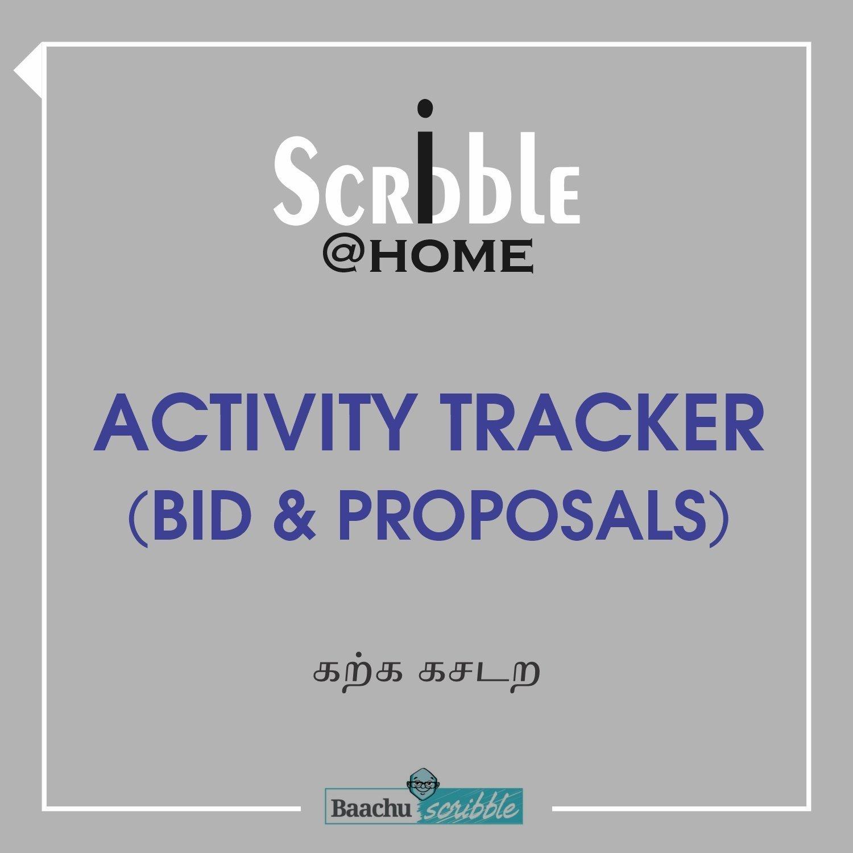 Activity Tracker (Bid & Proposals)