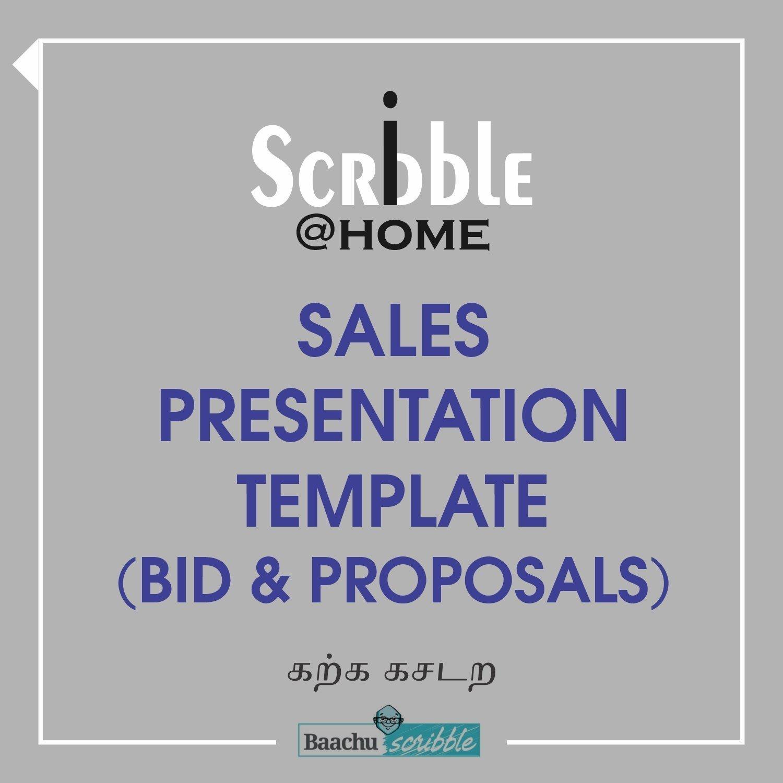 Sales Presentation Template (Bid & Proposals)