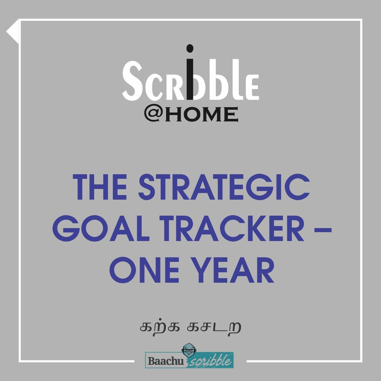 The Strategic Goal Tracker – One Year