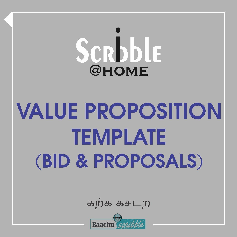 Value Proposition Template (Bid & Proposals)
