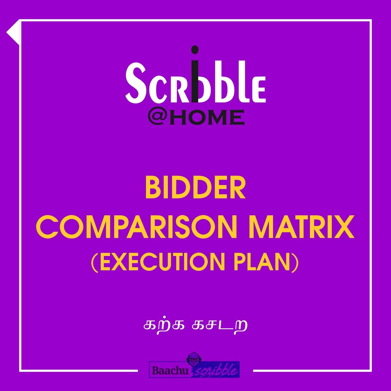 Bidder Comparison Matrix (Execution Plan)