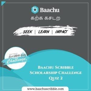 Baachu Scribble Quiz Challenge 2