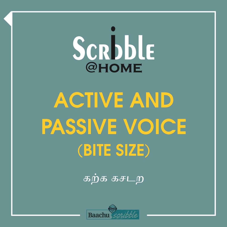 Active and Passive Voice (Bite Size)