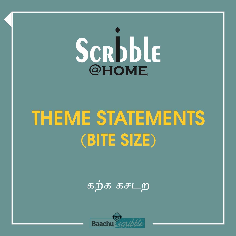 Theme Statements (Bite Size)