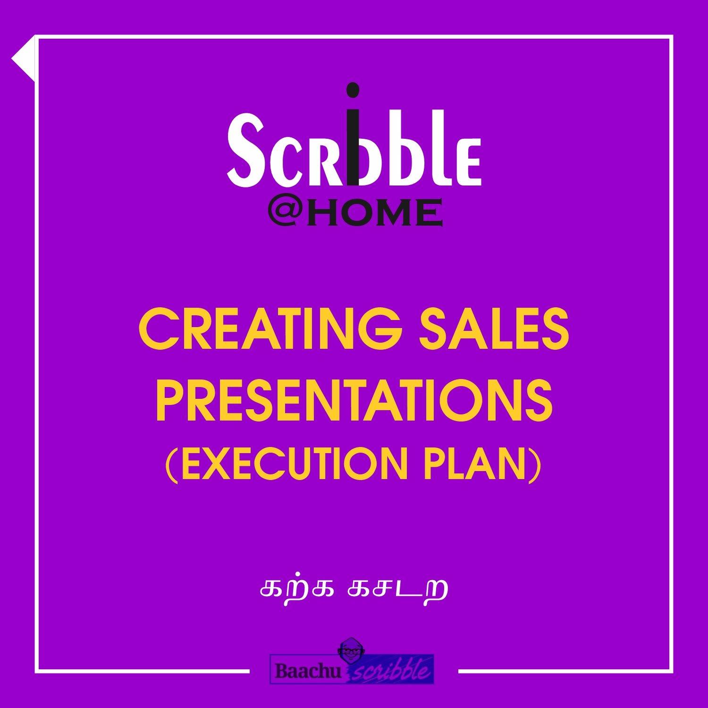 Creating Sales Presentations (Execution Plan)