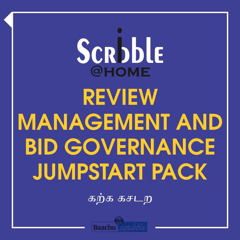 Review Management and Bid Governance Jumpstart Pack