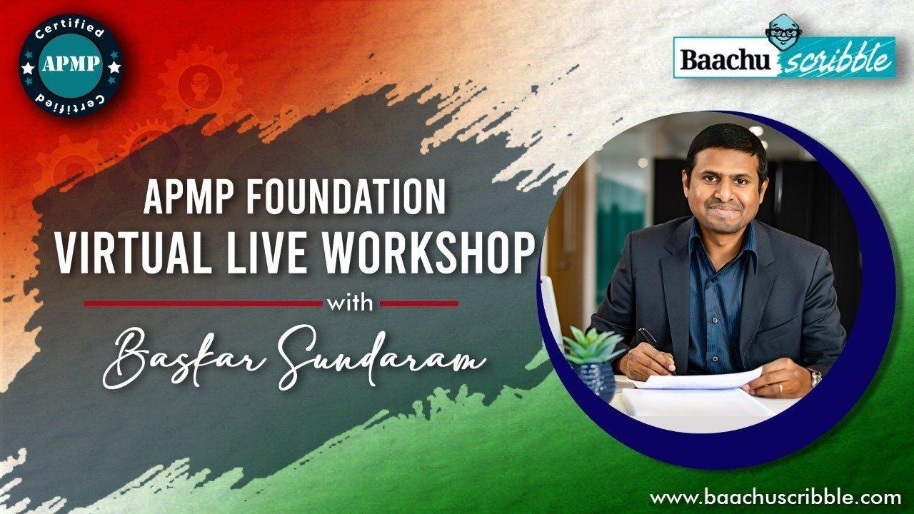 APMP Foundation Virtual Live Workshop India